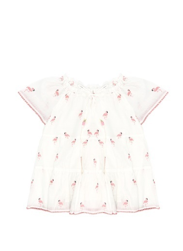 Zimmermann Zimmermann Bells   Flamingo Desenli Elbise 101557578 Renkli